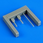 I-16 Rata gun barrels and pitot tube - 1/48 - Eduard
