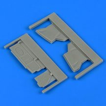 Su-25K Frogfoot undercarriage covers - 1/48 - KP/ Smer