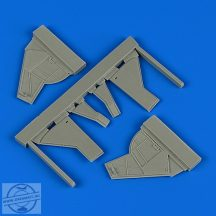 Sea Fury FB.11 undercarriage covers - Airfix
