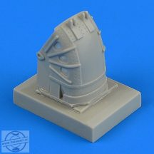 Su-27 Flanker front wheel fender - early - 1/48