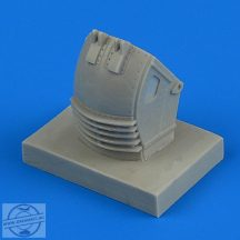Su-27 Flanker front wheel fender - late  1/48