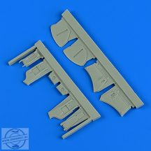 Hawker Hunter undercarriage covers - Airfix