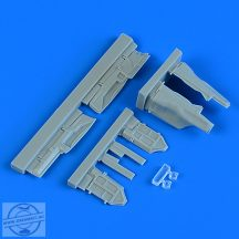 MiG-29 Fulcrum undercarriage covers - 1/48 - Academy