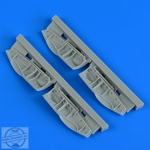Bristol Beaufighter undercarriage covers - 1/48 - Revell