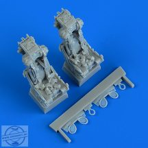 British Phantom FG.1/FGR.2 seats with safety belts - 1/48