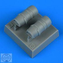 Macchi Mc.205 Veltro oil radiators - 1/48 - Hasegawa