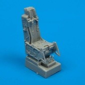 F-16A/C ejection seat with safety belts - 1/72