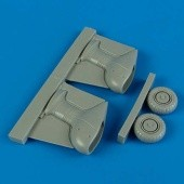 Ju 87G Stuka correct spatted undercarriage - 1/72 - Academy