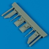 F9F-2 Panther undercarriage covers - Hobbyboss