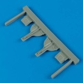 F6F-3/5 Hellcat undercarriage covers - 1/72 - Eduard