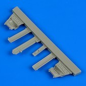 A-4B Skyhawk undercarriage covers - Airfix
