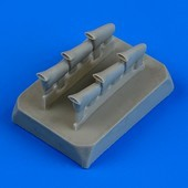 Defiant Mk.I exhaust - fishtail - Airfix