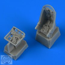 Ju-87 Stuka Seats with Safety Belts - 1/72 - Zvezda/Academy