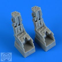 F-14D Tomcat ejection seats with safety belts - 1/72