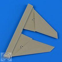 Su-34 fullback canard foreplane -Trumpeter