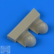 Wellington Mk. Ic propeller spinners 1/72 - Airfix