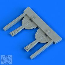 Bf 109G-6 undercarriage covers - 1/72 - Tamiya