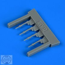 Bf 109G-6 piston rods with undercarriage legs locks - 1/72