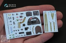Spitfire Mk.IX 3D-Printed & coloured Interior on decal paper (for Tamiya kit) - 1/32