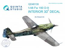 FW 190D-9 3D-Printed & coloured Interior on decal paper (for Eduard  kit) - 1/48