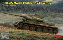 T-34/85 Model 1945 No.174 Factory - 1/35