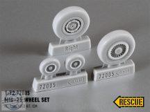Mig-25 Wheel Set maszkoló fóliával - 1/72