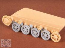 Toldi I.-II.-III. Roadwheels + suspension set - 1/35