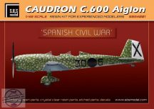 Caudron C.600 Aiglon 'Spanish Civil War' full kit - 1/48