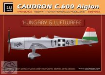 Caudron C.600 Aiglon 'Hungary&Luftwaffe' full kit - 1/48