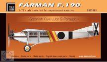 Farman F.190 'Spanish Civil War & Portugal' full resin kit - 1/72