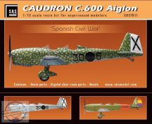 Caudron C.600 Aiglon 'Spanish Civil War' full kit - 1/72