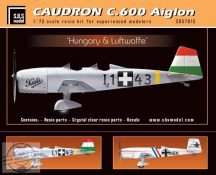 Caudron C.600 Aiglon 'Hungary&Luftwaffe' full kit - 1/72