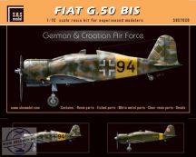 Fiat G.50 bis 'German & Croatian Air Force' - 1/72