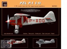 PZL P.1 I/II Prototype & Fighter - 1/72