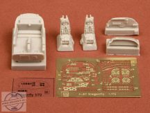 A-37 Dragonfly cockpit set - 1/72 - Academy