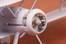 Gloster Gladiator engine - 1/72 - Airfix