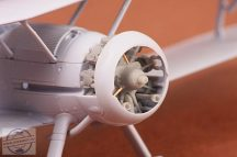 Gloster Gladiator engine - 1/72 - Airfix