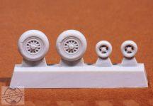 SAAB JAS 39C/D wheels - 1/72 - Revell