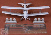 De Havilland Tiger Moth rigging set & wheels - 1/72 - Airfix