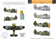 Polikarpov I-153 Chaika finn légierő II.vh Vol.I. - 1/48
