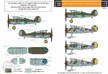 Gloster Gladiator in Swedish service VOL.II - 1/48