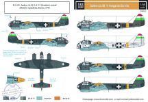 Junkers Ju-88 magyar szolgálatban WW II. - 1/48