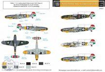 Messerschmitt Bf-109F magyar szolgálatban VOL. II. - 1/48
