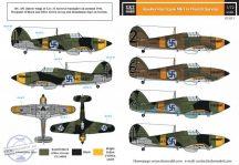 Hawker Hurricane Mk. I finn szolgálatban II. vh. - 1/72