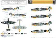 Messerschmitt Bf-109G-6 in magyar szolgálatban VOL. I. - 1/72