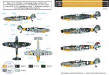 Messerschmitt Bf-109G-6 magyar szolgálatban VOL. II. - 1/72