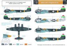 Junkers Ju-88 magyar szolgálatban WW II. - 1/72