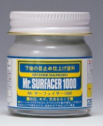 Mr. Surfacer 1000 40ml (Felületkiegyenlítő, alapozó)