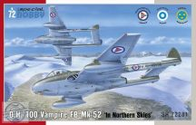 "Vampire FB 52 ""In Northern Skies"" - 1/72"