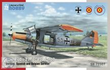 "Dornier Do 27 ""German, Spanish and Belgian Service"""